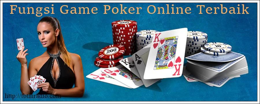 Fungsi Game Poker Online Terbaik